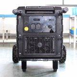 バイソン220V携帯用デジタルガソリン5kwインバーター発電機