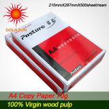 Papier 70GSM (CP005) de photocopie de la qualité A4