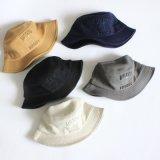 Изготовленный на заказ шлем ведра хлопка с логосом вышивки