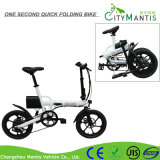 14 pulgadas de aluminio de aleación de X forma de mini bicicleta de bolsillo