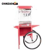 Handelspopcorn 8oz Popper Hersteller-Maschine mit abgleichender Karre