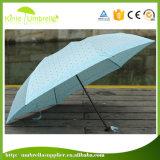 Casella all'ingrosso 19inch che piega ombrello promozionale con stampa