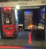CREE LED de alto rendimiento de la zona roja de la luz de la seguridad de la carretilla elevadora