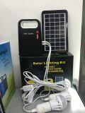 Новые мини-система освещения с бесплатное поддержание 6V-4ah свинцово-кислотного аккумулятора