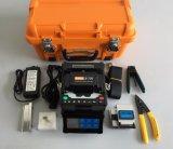 Colleuse de fibre optique de épissure de fusion de machine de télécommunication de matériel de but multi de fabrication de Shinho X-700