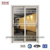 Portes en aluminium de fournisseurs de la Chine pour la porte coulissante de portes en verre de cuisine