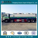 Sinotruk 6X4 conduisant le camion de réservoir de stockage de pétrole d'acier du carbone à vendre