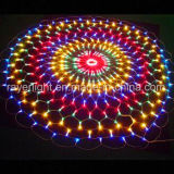 Helping Round Shape LED Colorful Net Mesh Lights