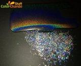 Pó de pigmento holográfico de esmalte de unha Use