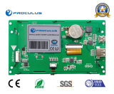 5 '' 480*270 IPS TFT LCM avec le panneau de contact résistif avec l'intense luminosité