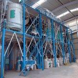Maïs professionnel traitant la chaîne de production de Ggits de maïs de machines