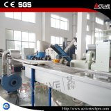 Riga di pelletizzazione della pellicola del PE dei pp con Agglomerator di plastica