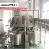Imbottigliatrice di plastica dell'acqua di piccola impresa/strumentazione imbottigliante liquido asettico