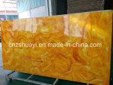 Marmo artificiale interno poco costoso per il comitato della decorazione della parete