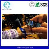 Wristband del silicón RFID de la viruta Ntag203 para el control de acceso/la piscina