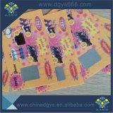 Настраиваемые Anti-Counterfeiting нуля карту с указанием серийного номера