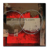 Абстрактное искусство на стене полотенного транспортера для интерьера
