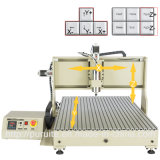 Древесина PVC металла подписывает CNC высекая части CNC подвергая механической обработке