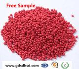 Colore rosso Masterbatch per contenitore di plastica/medico