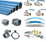 Tubo dell'aria compressa dei connettori del tubo/valvole a sfera/lega di alluminio