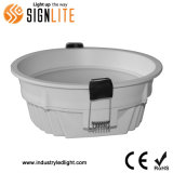 Gradation 4inch 9W/purement commercial/Downlight Led Blanc chaud