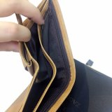 남자를 위한 지갑 Mens 포도 수확 가죽 지갑을 막는 최신 RFID