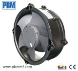200X70mm cd. Tubes Axial Flow Fan with Aluminum Housing and Plastic Impeller
