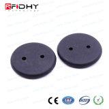 耐熱性RFIDは衣服のための札にボタンをかける