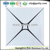 알루미늄 천장판을 인쇄하는 롤러 코팅클립 에서 사각