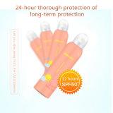 OEM/ODM Nevel van het Zonnescherm van de Bescherming van de zon de Waterdichte van Kosmetische Fabriek