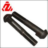 Leite A2-70 304 Hex Befestigungsteil-Maschinen-Schrauben des Edelstahl-M8 und Nuts Schraube