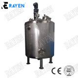 2000L en acier inoxydable Shampooing Savon industriel chimique pression conique double isolant chemisé pour agitateur cuve de mélange de mélangeur de chauffage