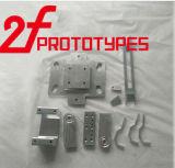 CNCの溶接CNCの回転部品アルミニウムハウジングの精密大気および宇宙空間の部品を切る機械化の部品の鋼鉄精密鋼板重機の金属部分