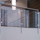 La mayoría de los pasamanos populares del balcón del acero inoxidable del diseño moderno