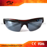 Montar a caballo de ciclo polarizado UV400 de moda del funcionamiento del Mens que conduce las gafas de sol