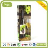 El licor de la cereza del vino bebe el bolso de papel hecho regalo del vino de las compras del té