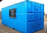 Goedkope Gemakkelijk van de Verkoop van de fabriek Directe om 20 van het ZonneVoet Huis van de Container te installeren
