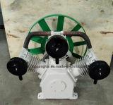 Compresseur d'air d'Oilless de commande par courroie de 8 barres W100 (3X100mm)