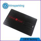 Mecanismo impulsor de la tarjeta de crédito del flash del palillo de la memoria del USB del metal