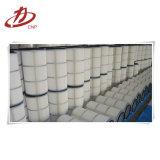 Industrieller Abwechslungs-Staub-Sammler-Kern gefalteter Filtereinsatz