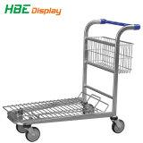 Grande capacidade de carregamento pesado Supermercado Carrinho de armazém