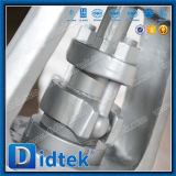 Presión de Didtek Buttwelding que sella la válvula de puerta del acero inoxidable con el engranaje