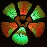 Vogeltjes die van de Gloed van de Nacht van de LEIDENE Shuttle van het Badminton de Vastgestelde Donkere voor de Openlucht/BinnenActiviteiten van Sporten aansteken