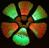 Juego de Badminton Shuttlecock LED Dark Night Glow Birdies iluminación de exterior/interior Actividades deportivas