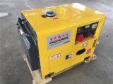 Générateur silencieux diesel portatif 5.0kVA pour l'usage à la maison