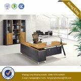Muebles de oficinas modernos del vidrio Tempered de la estructura del metal (HX-D9032)