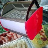 O aço inoxidável Delato Exibir Showcase/Sorvete Showcase/Sorvete Showcase freezer