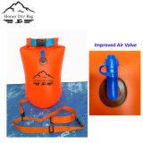 bouée durable de sûreté de flotteur de PVC 16L pour la natation d'eau libre d'adultes