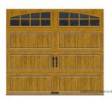 Наградная дверь гаража твердого Ультра-Зерна R-Значения серии изолированная Intellicore средств