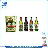 Съемный водоустойчивый ярлык стикера бутылки пива